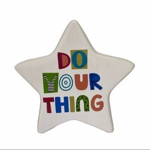 Do Your Thing Star Standing Stoneware Star